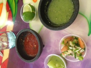 Feel free to jazz up my basic guacamole with salsa, more limes and even hot sauce!