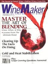 "I helped found WineMaker Magazine in 1998 and still write the ""Wine Wizard"" colmn"