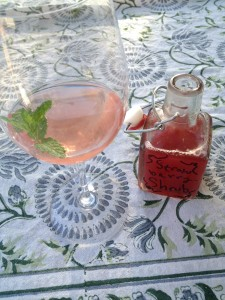 Shrubs are vinegar and fruit syrups that, when mixed with sparkling water, create an interesting- and historical- drink option for summer sipping.