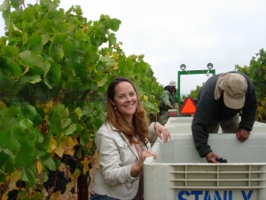 Girl and the Grape(s) at Stanly Ranch in Carneros.  A special place for Pinot, Chardonnay, sparkling and more!