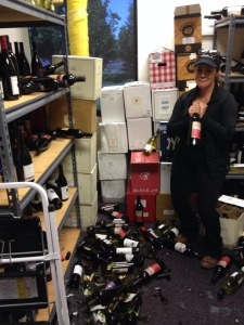 I lost about 100 bottles in our sample store room.