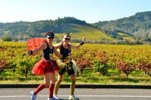 Looking for some post-Harvest Halloween fun - try the Healdsburg Wine Country Half Marathon!