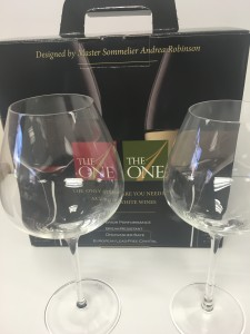 The One red and white wine glass. Designed by world-renowned Master Sommelier Andrea Robinson may be the last line of wine glasses you'll ever buy.
