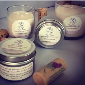 Candles from NapaScents make great hostess gifts.