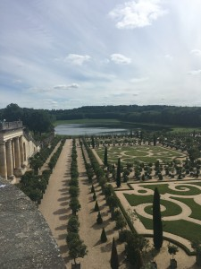 French chateaux, French food, French oak....the gardens of Versailles are traditional and timeless, much like French oak and winemaking.